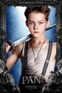 Poster des personnages - Levi Miller dans Pan de Joe Wright
