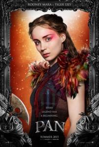 Poster des personnages - Rooney Mara dans Pan de Joe Wright