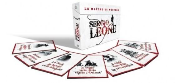 Coffret Sergio Leone le maître du western