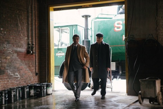 Albert Brooks et Oscar Isaac dans A Most Violent Year de JC Chandor