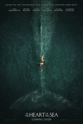 Au Coeur de l'Ocean (In the Heart of the Sea)- affiche