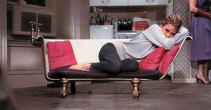 L'appartement de Audrey Hepburn dans Diamants sur Canapé ...