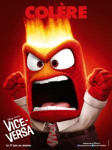 La Colere - affiche Vice Versa