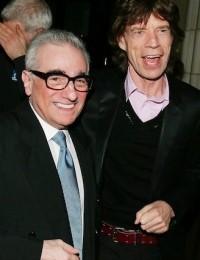 Martin Scorsese et Mick Jagger