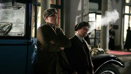 Michael Pitt (Jim Darmody) et Stephen Graham (Al Capone) dans Boardwalk Empire - HBO
