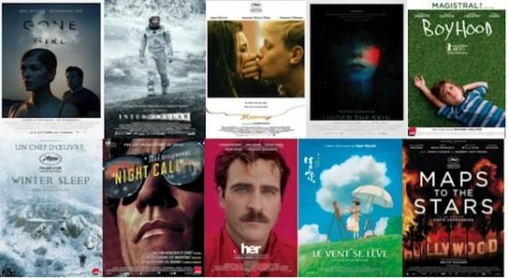 TOP 10 meilleurs films 2014 CineChronicle