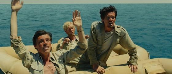 Domhnall Gleeson, Jack O'Connell et Finn Wittrock dans Invincible de Angelina Jolie