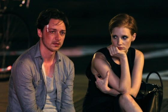 James McAvoy et Jessica Chastain dans The Disappearance of Eleanor Rigby de Ned Benson