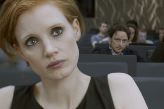 Jessica Chastain et James McAvoy dans The Disappearance of Eleanor Rigby de Ned Benson