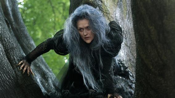 Meryl Streep en méchante sorcière dans Into the Woods