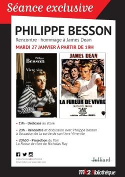 Soiree Speciale James Dean avec Philippe Besson