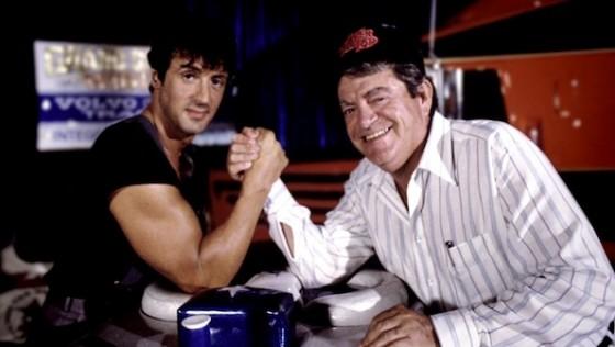 Sylvester Stallone et Menahem Golan dans Electric Boogaloo
