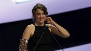 Adèle Haenel -Cesar meilleure actrice pour Les Combattants