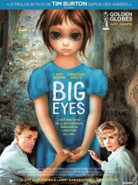 Big Eyes de Tim Burton - affiche
