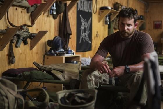 Bradley Cooper dans American Sniper
