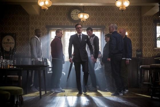 Colin Firth dans Kingsman de Matthew Vaughn