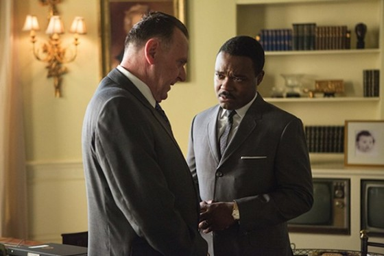 David Oyelowo et Tom Wilkinson (Lyndon B Johnson dans Selma de Ava Duvernay