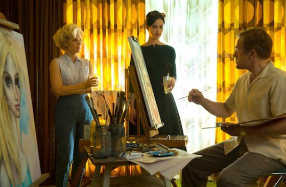 Krysten Ritter, Christoph Waltz et Amy Adams dans Big Eyes de Tim Burton