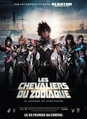 Les Chevaliers du Zodiaque - La Legende du Sanctuaire - affiche