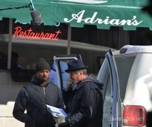 Michael B Jordan et Sylvester -Creed de Ryan Coogler - spin off de Rocky1