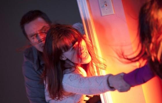 Sam Rockwell et Rosemary DeWitt / remake Poltergeist / ©