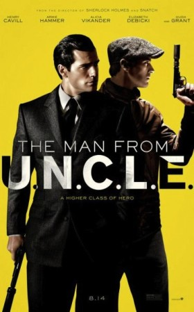 The Man from UNCLE de Guy Ritchie - affiche