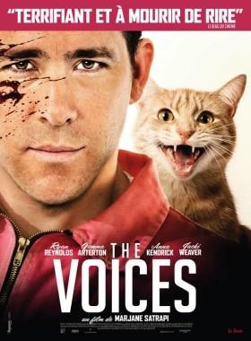 The Voices - affiche francaise