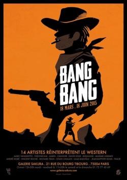 Expo Bang Bang Galerie Sakura - affiche
