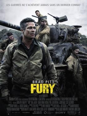 Fury - affiche