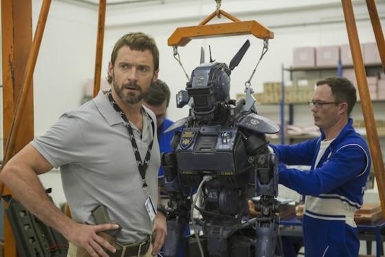 Hugh Jackman dans Chappie de Neill Blomkamp