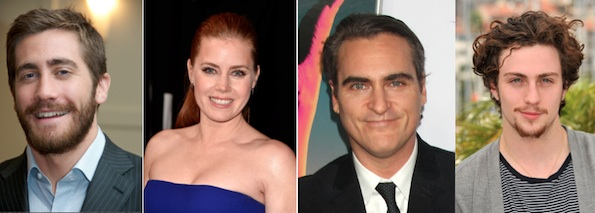 Jake Gyllenhaal, Amy Adams, Joaquin Phoenix et Aaron Taylor-Johnson chez Tom Ford ?