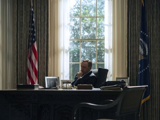 Kevin Spacey dans House of Cards (saison 3)
