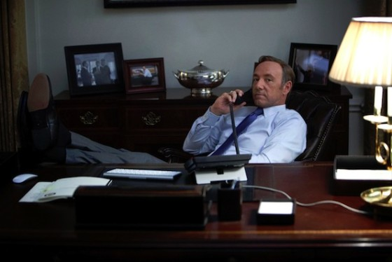 Kevin Spacey dans House of Cards (saison 1)