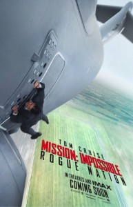 Mission Impossible 5 - Rogue Nation - affiche teaser