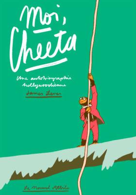 Moi Cheeta - couverture