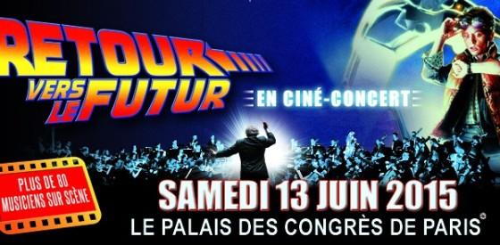 Retour vers le Futur en cine-concert au Palais des Congres