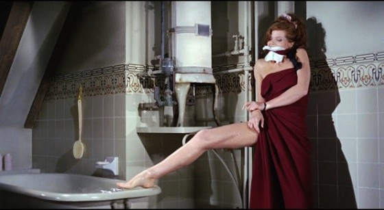 Samantha Eggar dans L'Obsede (The Collector) de William Wyler