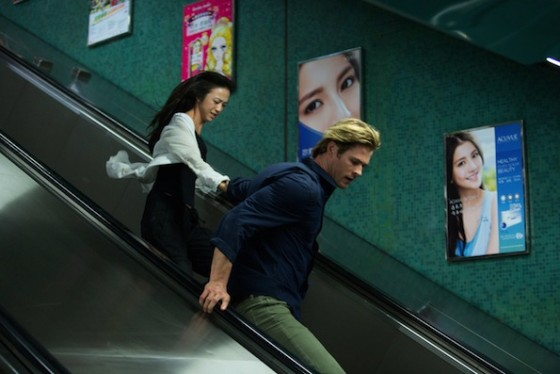 Tang Wei et Chris Hemsworth dans Hacker (Blackhat) de Michael Mann