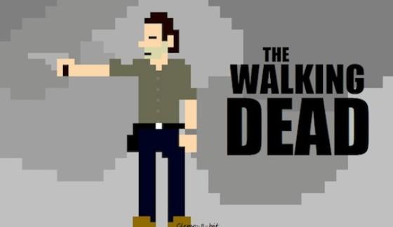 The Walking Dead 8-Bit CineFix