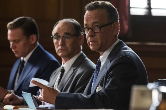 Tom Hanks dans Le Pont des Espions de Steven Spielberg