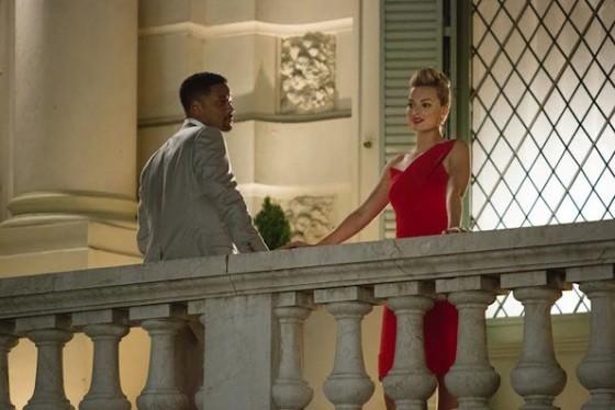 Will Smith et Margot Robbie dans Diversion