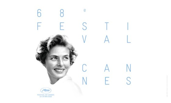Affiche Cannes 2015 Ingrid Bergman