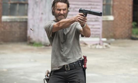 Andrew Lincoln dans The Walking Dead saison 5