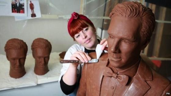 Benedict Cumberbatch a la saveur gout chocolat (Chocobatch)