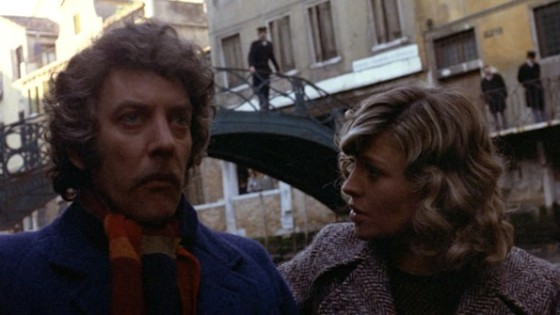 Donald Sutherland et Julie Christie dans Ne vous retournez pas -Dont look back