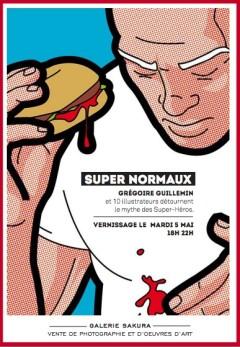 Expo les Super Normaux a la Galerie Sakura