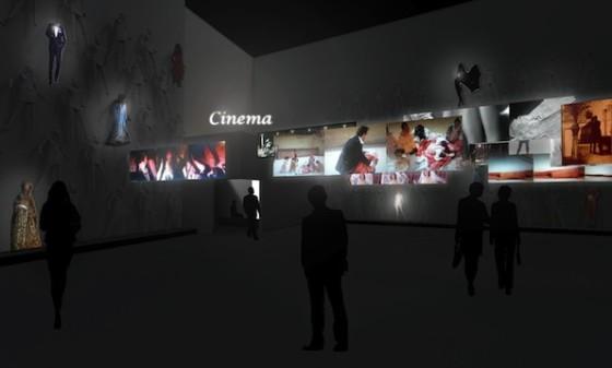 Exposition 120 ans de Cinema Gaumont au CentQuatre