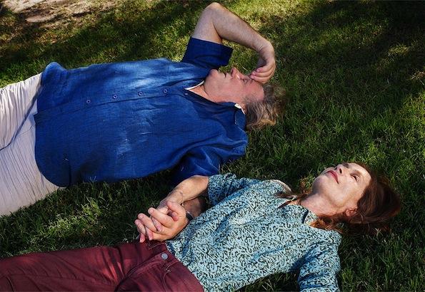 Gerard Depardieu et Isabelle Huppert dans Valley of love de Guillaume Nicloux