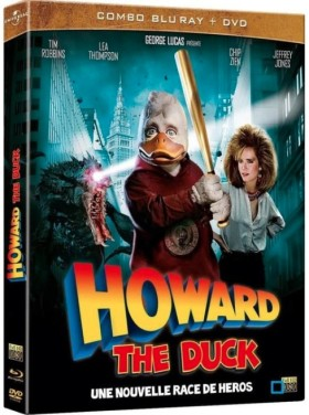 Howard the Duck - jaquette combo