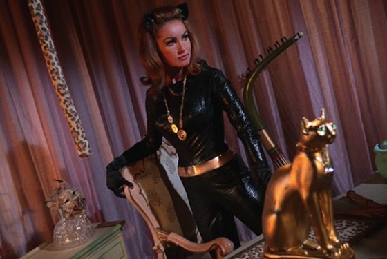 Julie Newmar dans la serie populaire Batman diffusee sur ABC à partir du 12 janvier 1966